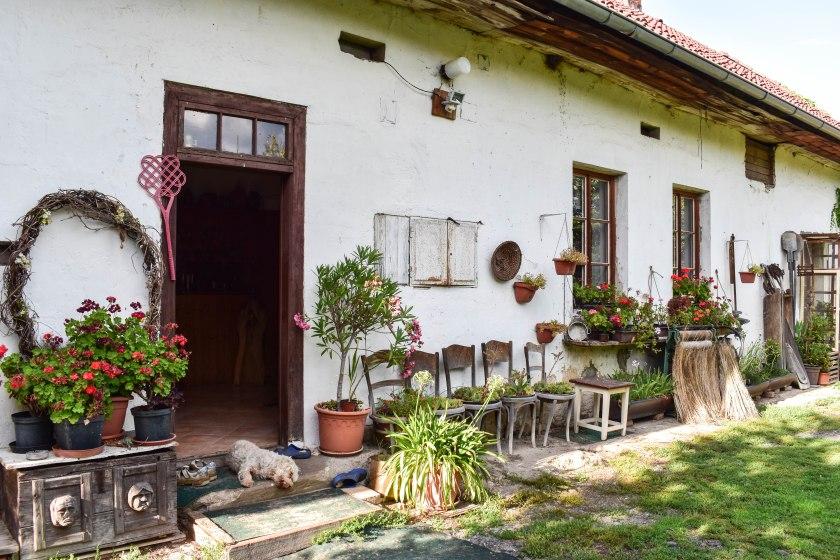 Tradiční české stavení