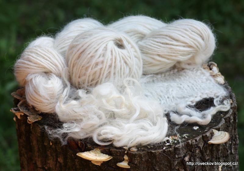 příze z valašských ovcí