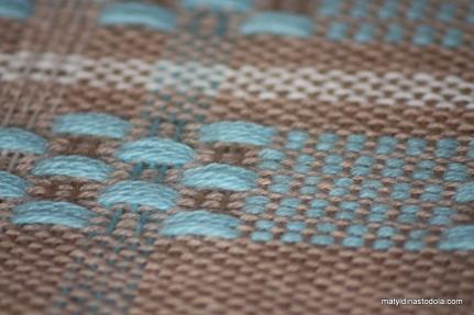 Tkaní - huck lace