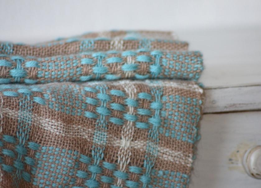 ručně tkaná šála